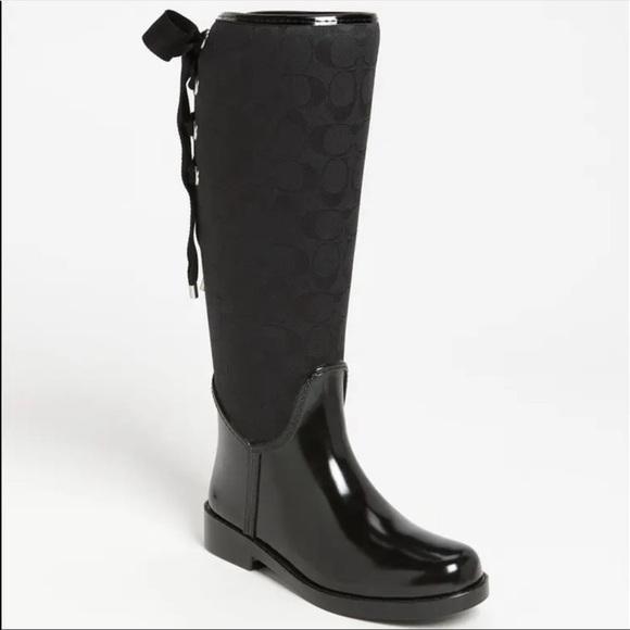 Coach Tristee Rain Boots